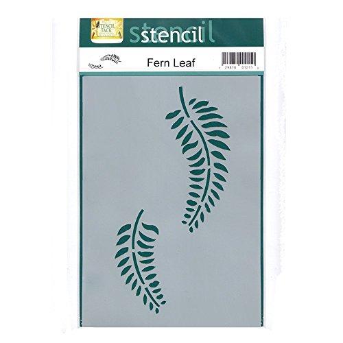 Fern Leaf Wall Stencil