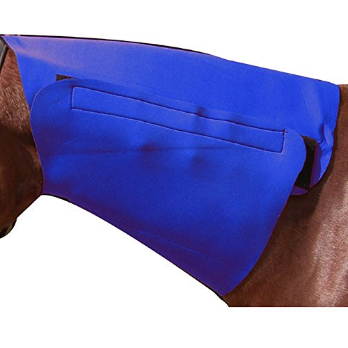 Neoprene Neck Sweat - Intrepid International Cob Neoprene Neck Sweat, Blue
