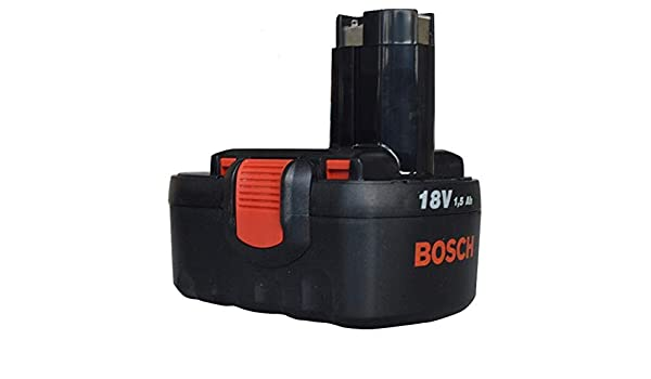 Bosch 18 V batería (estilo) (para: Bosch inalámbrico PSR 18 ...
