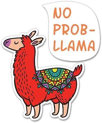 No Probllama {llama sticker}