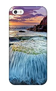 Lovers Gifts 1884609K96500030 Durable Case For The Iphone 5/5s- Eco-friendly Retail Packaging(coastline)