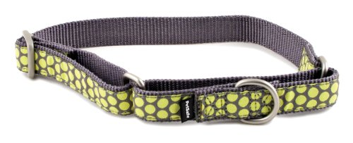 Dog Collars Dotted Ribbon (PetSafe Fido Finery Martingale-Style Dog Collar, 3/4-Inch, Medium, Dotted Bliss)
