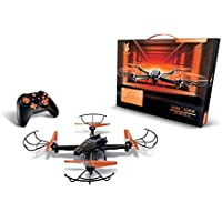 FUSE  Drone With SuperHD Camera + 360 Degree Flips + Bright LED Lights + Headless Mode + Extra Battery Double Flight time + includes spare set of propellers - Great For Beginner And Expert Pilots