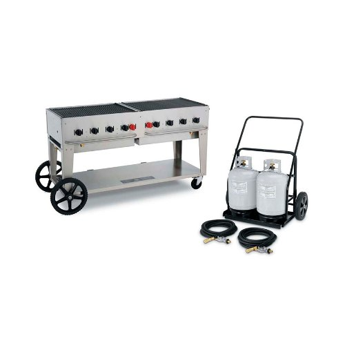 Crown Verity MCC-60 Outdoor Charbroiler Complete Set - 60'' by Crown Verity