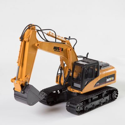 ラジコン 2.4GHz [ ショベルカー ダンプカー ブルドーザー ]/リアルラジコン ラジコンカー 働く車 充電式 電動 重機 子供 おもちゃ 玩具 (ショベルカー)