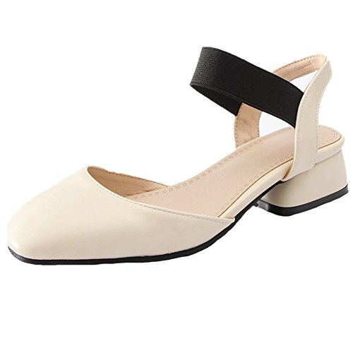 SaraIris Flop Heel Flip Casual Sandals Women's Summer Mid Open Toe Beige Shoes Platform raFqrwfAzx