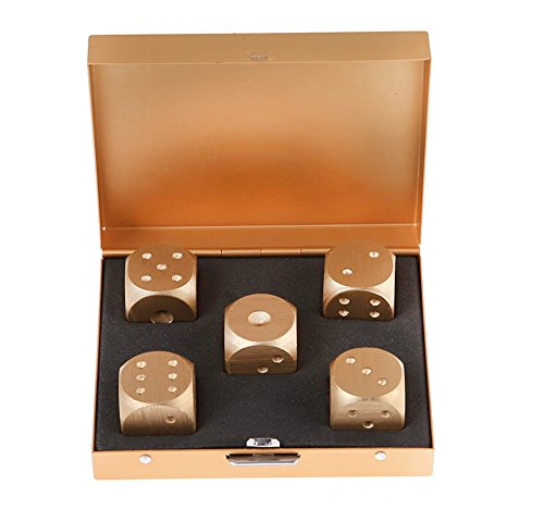 GooGou Aluminum Alloy Dices 5 in 1 with Portable Square S...
