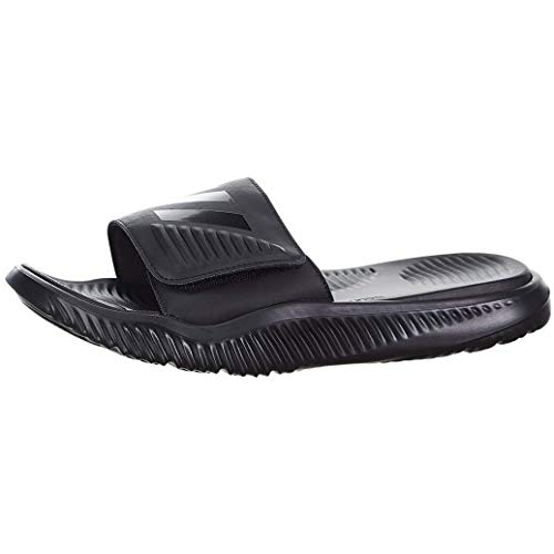adidas Men's Alphabounce Slide Sport Sandal, Black/Black/Black, 13 M US (Watch Adidas Men)