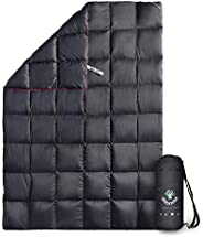 4monster Down Camping Blanket, Outdoor Down Blanket, Lightweight, Packable, Compact, Water Resistant Warm Blan
