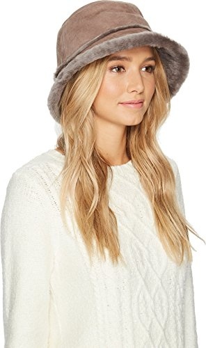 UGG Women's Waterproof Sheepskin Bucket Hat Stormy Grey SM/MD by UGG