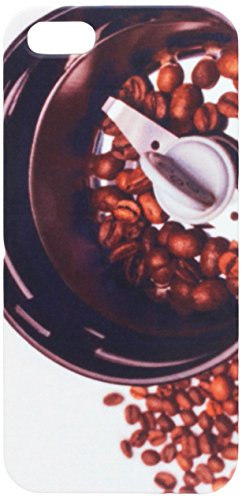 Electric grinder machine with roasted coffee beans cell phone cover case iPhone5