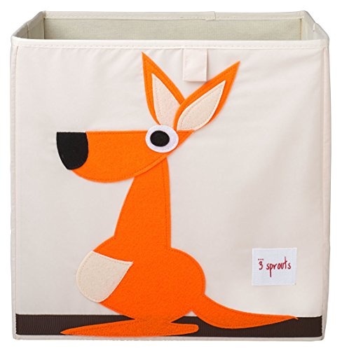 3 Sprouts Storage Box, Kangaroo