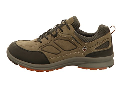 Black Caletto 08 Rubber 1 Tex Nubuk Ch by Compétition Chaussures Running Gris de Allrounder Homme Mephisto grey pEaqwTv