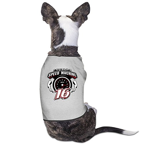 Greg Biffle JR Motorsports Gray Dog Hoodie Cute Dog Accessories