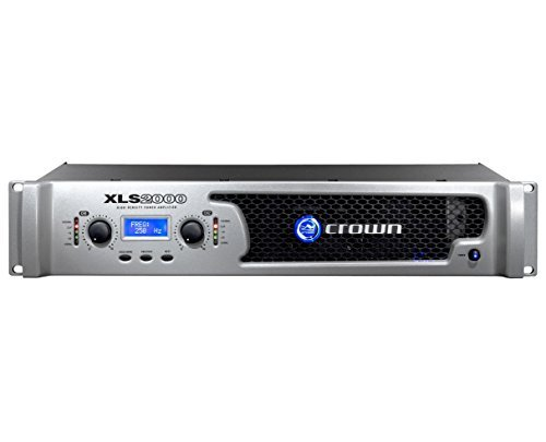 Crown XLS-2500 775w Amplifier 2-Channel DriveCore Stereo Power Amp by Crown