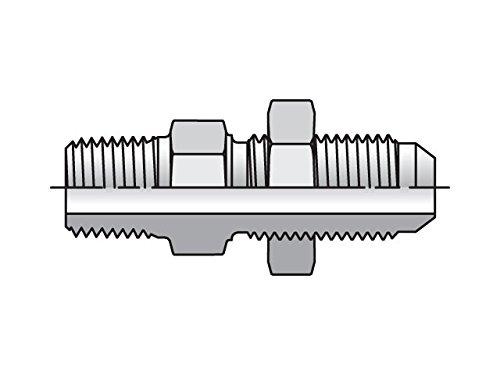 Parker Triple-Lok - Male Bulkhead Connector 37° Flare / NPTF by Parker