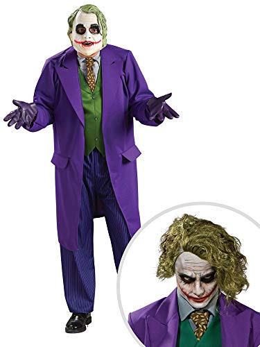 Joker Costume Kit Adult XL with Wig ()