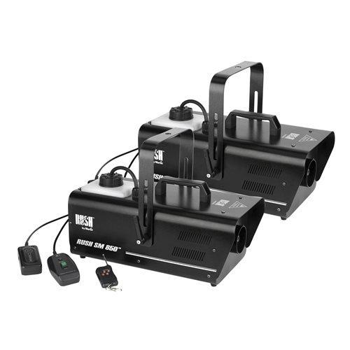 Martin Professional SM850 850-Watt Fog Machine w/ Remote 2-Pack (Martin Fog Machine)