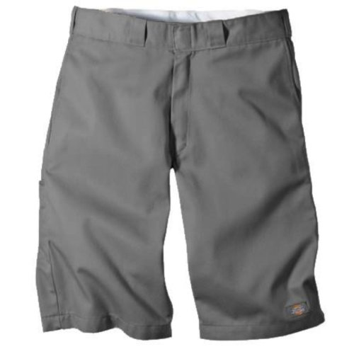 Dickies Mens 13 Inch Relaxed Fit Multi-Pocket Short, Charcoal Gray, 36 ()
