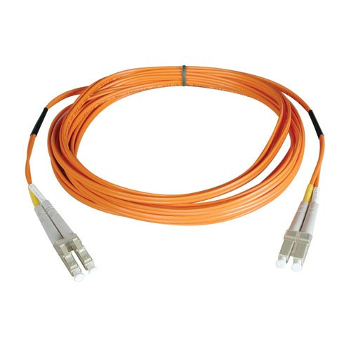 Tripp Lite N520-100M  Multimode Duplex 50/125 Fiber Optic Patch Cable LC/LC (100 Meters) by Tripp Lite