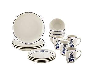Paula Deen 16-pc. Stoneware Dinnerware Set