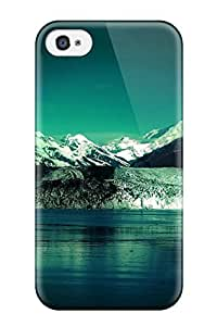 Hot Design Premium PHzyHkd4627oEYOF Tpu Case Cover Iphone 4/4s Protection Case(mountain Earth Water Snow Nature Mountain) by lolosakes
