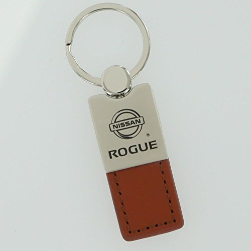 Nissan Rogue Brown Leather Key Ring (Auto Key Ring Leather)