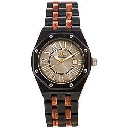 Tense Men's Oregon Watch in Dark Sandalwood and Rosewood J5800DR