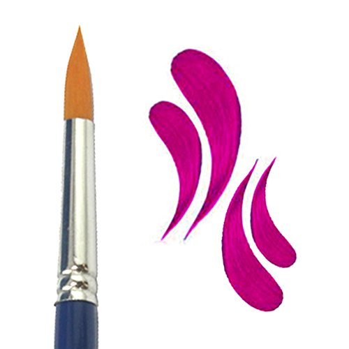 Face Paint Brush Round #04 by TAG Body Art