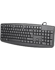 Muis Set Toetsenbord Volledig Zwart Voor Kantoor Voor PC Voor Zakelijk