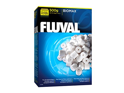 Fluval A1456 Biomax 500g - mit komplexen porensystemen für eine effiziente biilogische Filterung