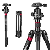 Neewer 2-in-1 Aluminum Alloy Camera Tripod Monopod 66 inches/168 Centimeters with 360 Degree