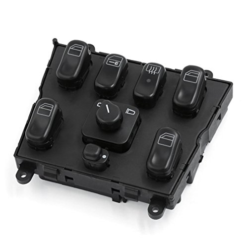 Uxcell 1638206610 master power window switch 1998 2003 for for 2000 mercedes benz ml320 window switch