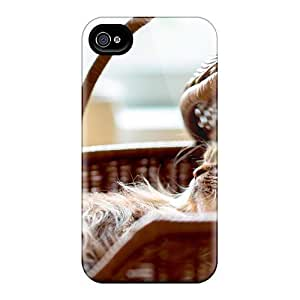 Durable Case For The Iphone 4/4s- Eco-friendly Retail Packaging(comfort Kitty)