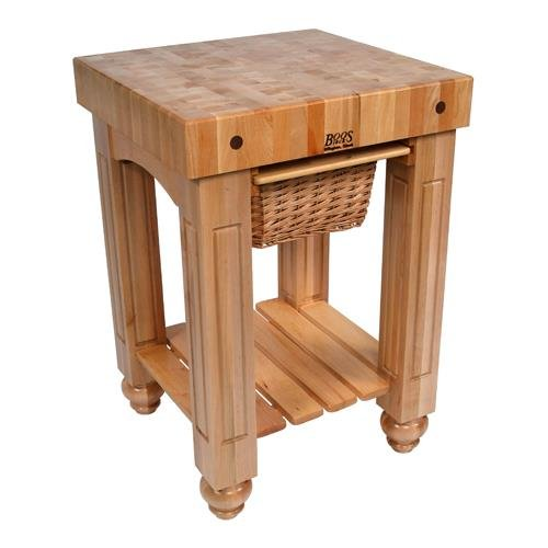 Gathering Table Base (American Heritage Prep Table with Butcher Block Top Base Finish: Natural Maple)