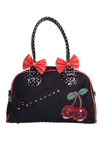 Nera Bag Lussuoso Studio Stile Donna Il Bowling Rosso Bianco qUpBtwC