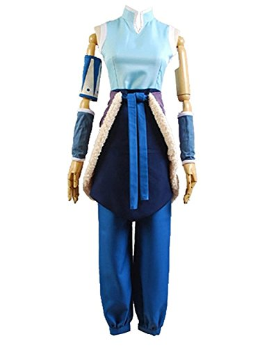 Custom Made Avatar Costumes (TISEA Avatar the Legend of Korra Cosplay Costume Korra Halloween Outfit for Women (Custom Made))