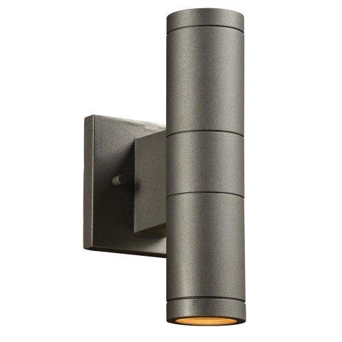PLC Lighting 8024 BZ Troll II Collection 2 Light Outdoor Fixture