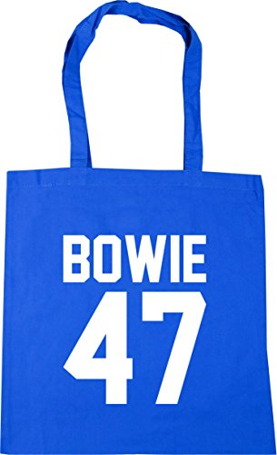 litres Bag Tote Beach 42cm Printed HippoWarehouse Back Cornflower Shopping x38cm Gym the Bowie 47 10 Blue on YSv6x