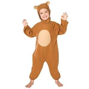 Jumca SPRL 1058CFB - Disfraz de oso para niño (2 años)