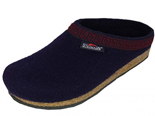 Wool Womens Clogs (Stegmann Women's Wool Clog, Navy 8.5 M)
