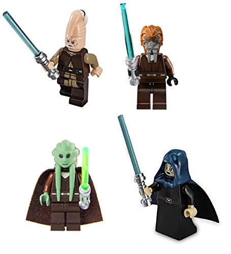 LEGO Star Wars: Jedi Lot #1 - Ki Adi, Barriss Offee, Plo Koon and Kit Fisto (Lego Star Wars Plo Koons Jedi Starfighter)