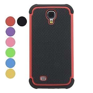 Ball Grain Detachable Hard Case for Samsung Galaxy S4 I9500 (Assorted Colors) , Black