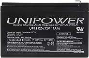 Bateria Selada Unipower 12V/12A Imp, Unipower, UP12120, Preto