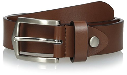 Florsheim Big Boy's 30mm Leather Belt, Brown, 30