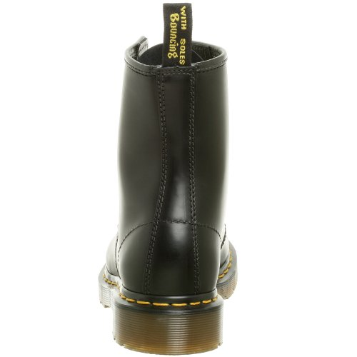 Dr. Marten's Women's 1460 8-Eye Patent Leather Boots, Black Smooth Leather, 7 F(M) UK / 9 B(M) US Women / 8 D(M) US Men - Image 2