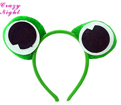 Novelty Animals Eyes Head Bopper for Party Pack of 2pcs -