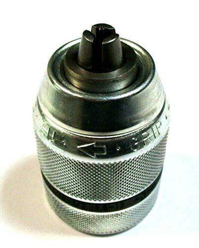 Embout 1//2 R/ÖHM Mandrin de per/çage /Ø 1,5-13 mm 20 UNF Argent/é Verrouillage radio