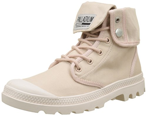Dust Para Pink rose Baggy K70 blanc Whisper Mujer Camp Army Zapatillas Training Rosa Altas Palladium ZxvqFq