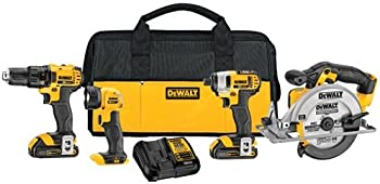 Dewalt DCK421D2 20V MAX Lithium-Ion 4-Tool Combo Kit